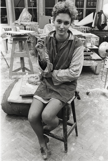 Fine arts student, St. Martin's College, Holborn.jpg