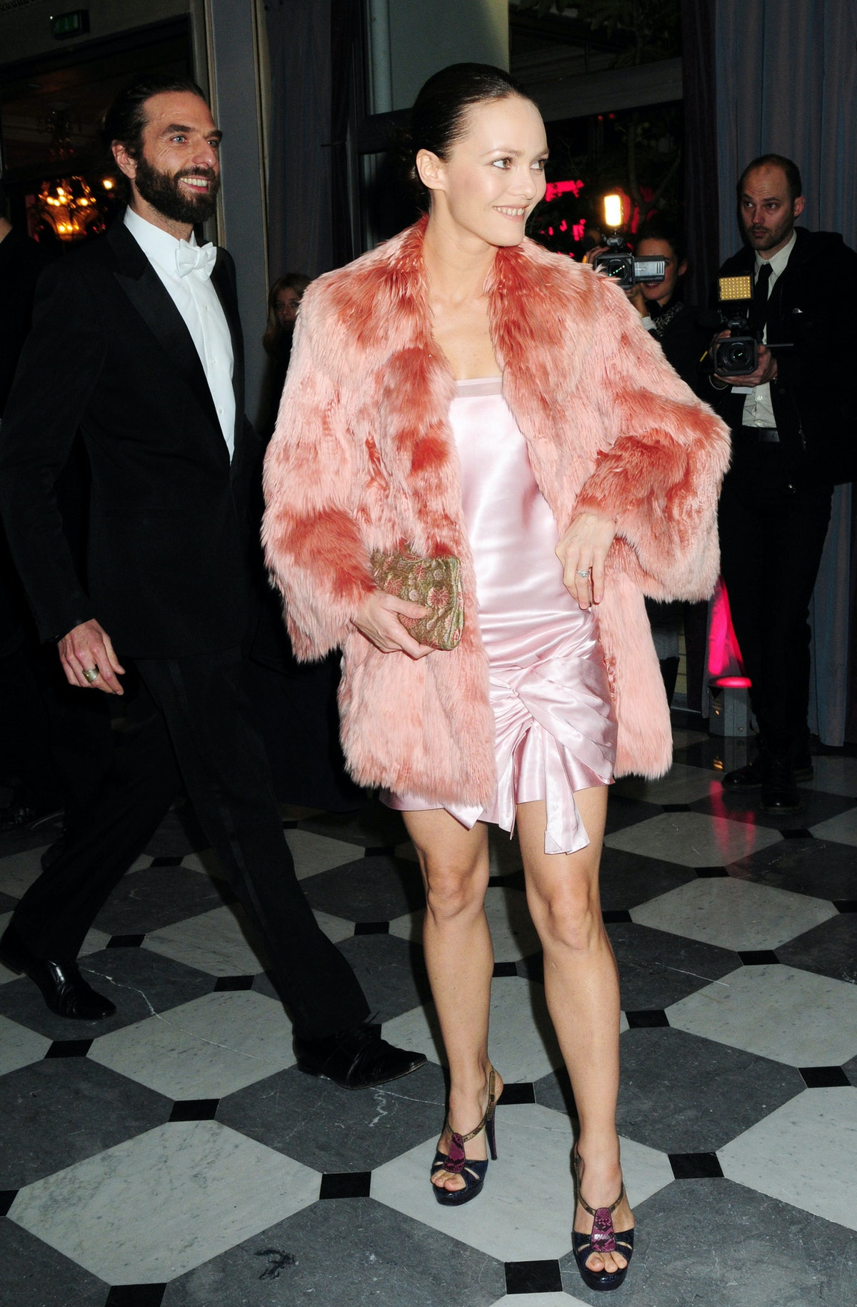 Fashion Dinner For AIDS In Paris - January 29, 2009