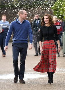 The Duke & Duchess Of Cambridge Host Christmas Party For Families Of Military Personnel Deployed In ...