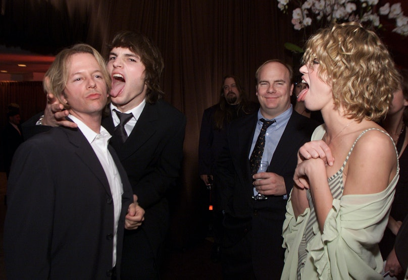 In Style/Warner Bros. post-Golden Globes party