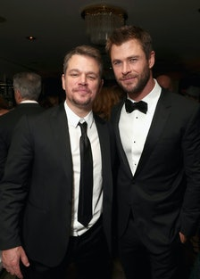 Matt Damon, Chris Hemsworth
