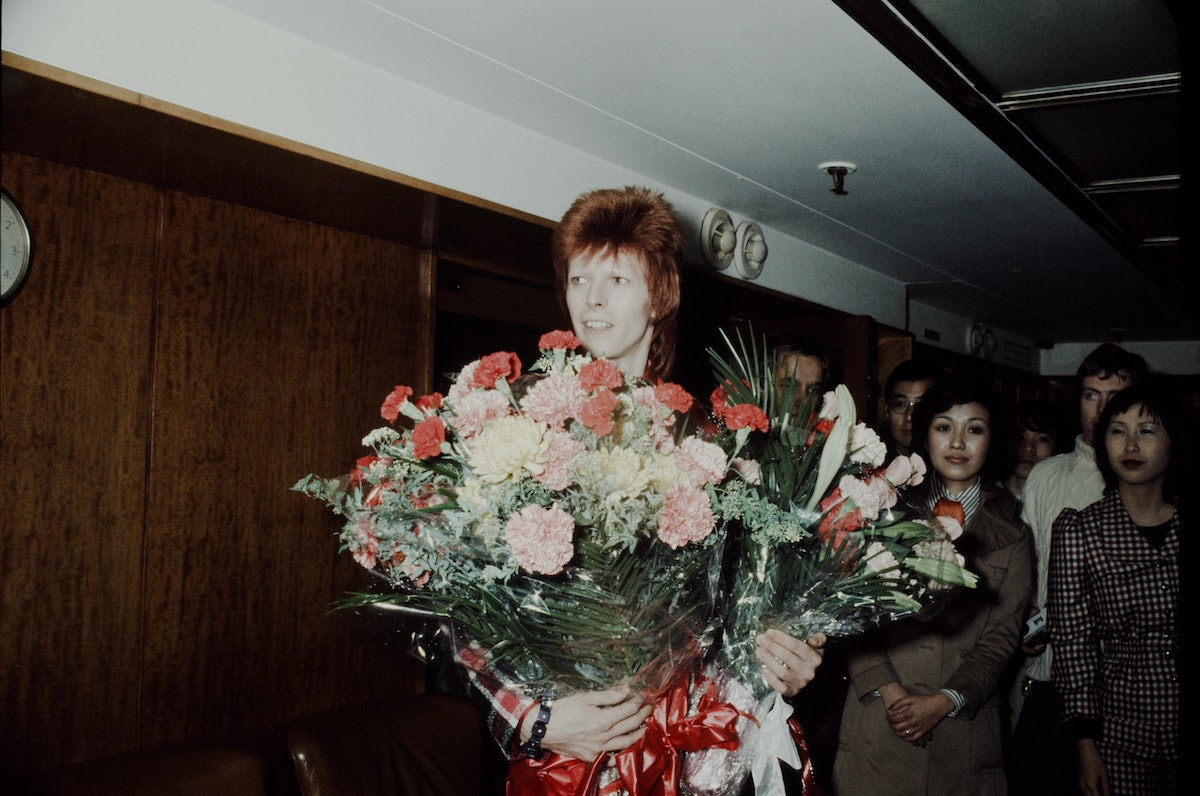 David Bowie Press Conference At Imperial Hotel