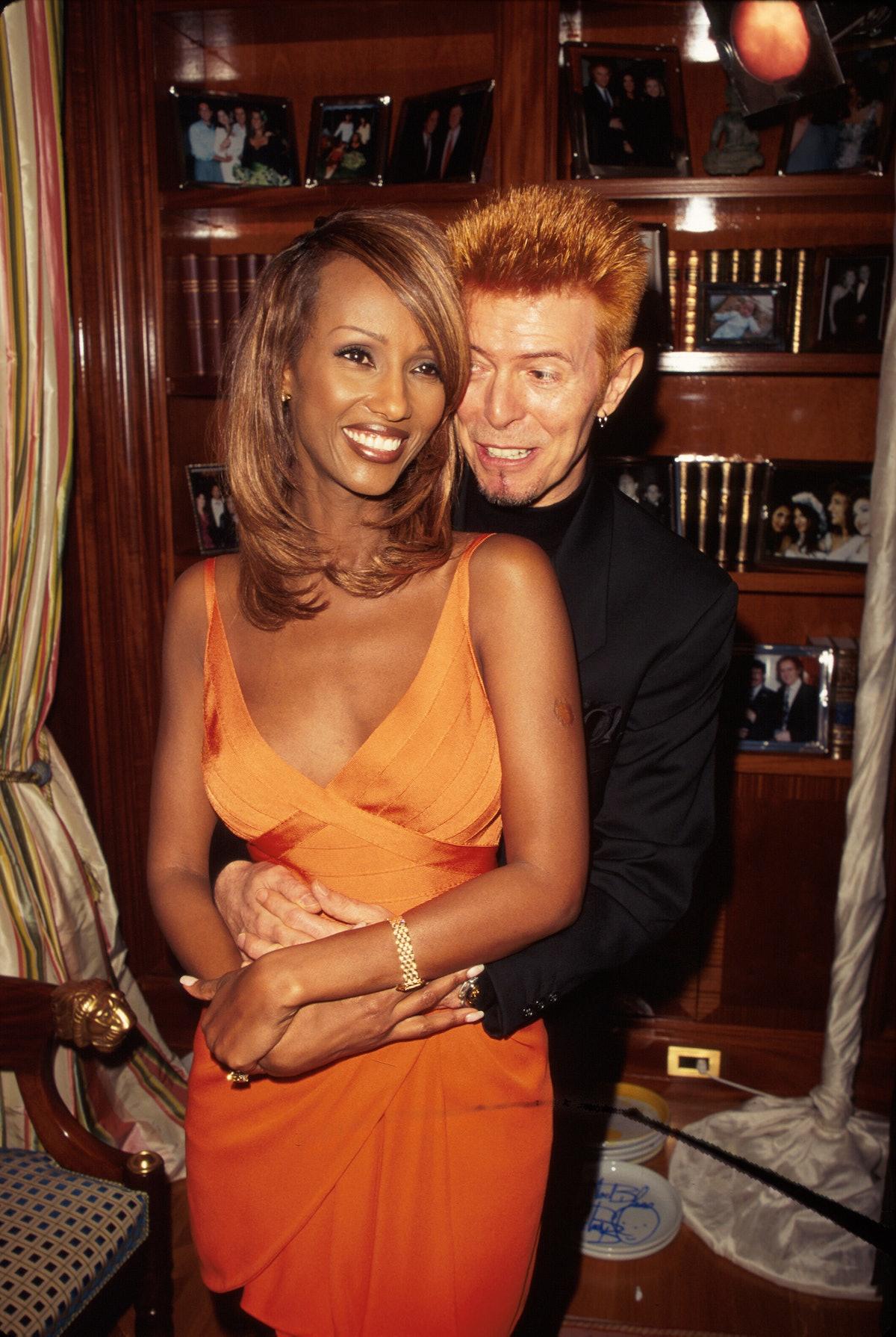 Iman;David Bowie [& Wife #2]