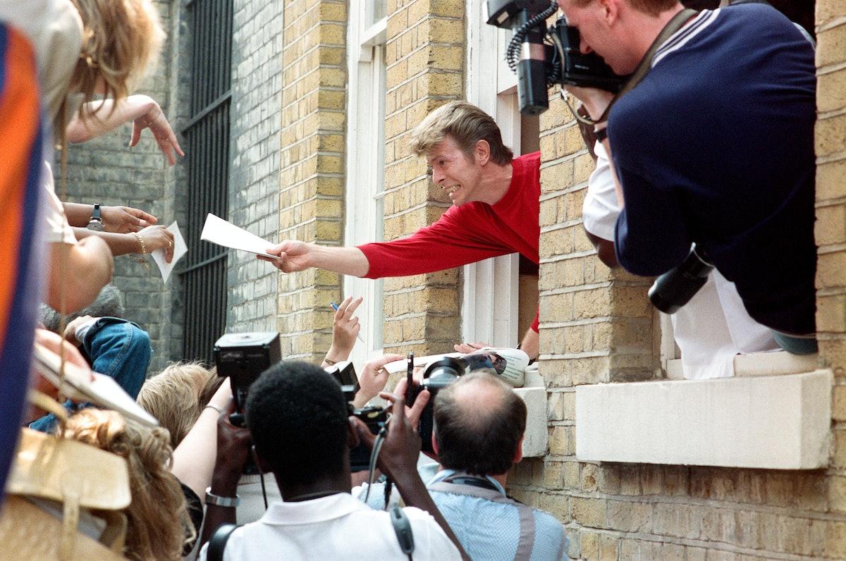 David Bowie launches The Brixton Community Centre. 1989