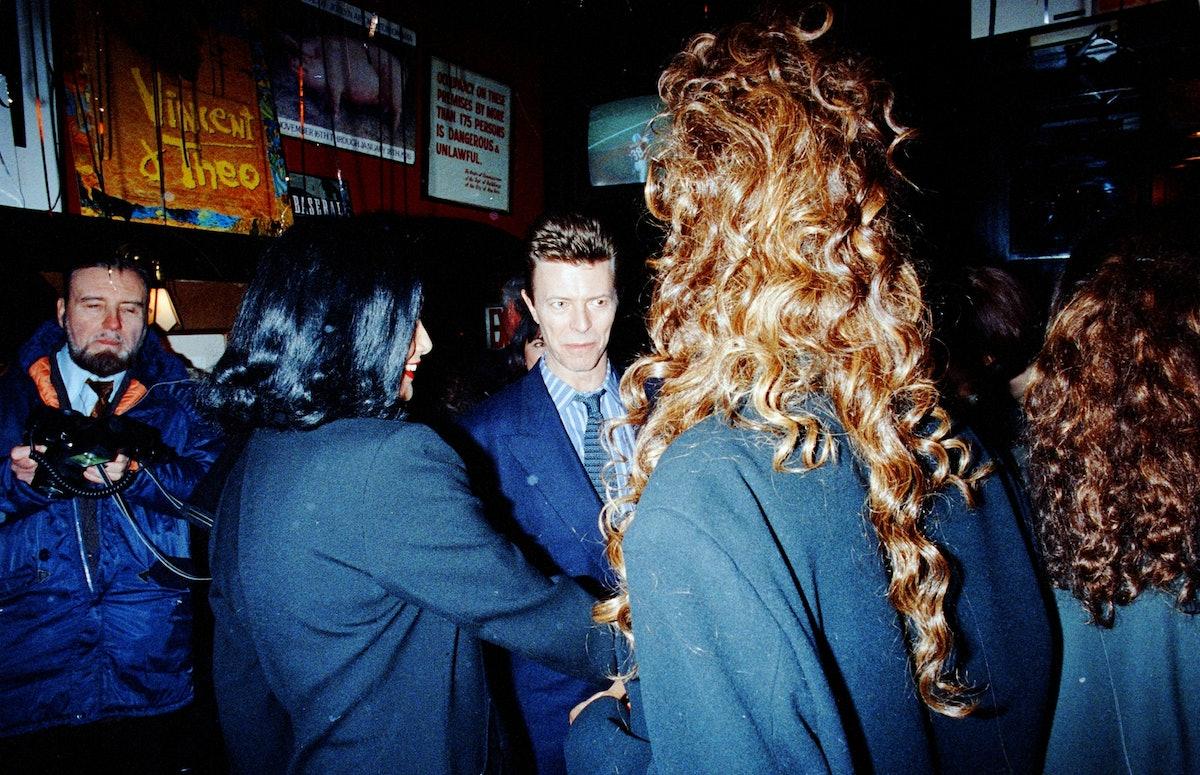 Iman, David Bowie, Shakira Caine