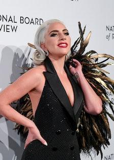 Lady Gaga in Ralph Lauren lead