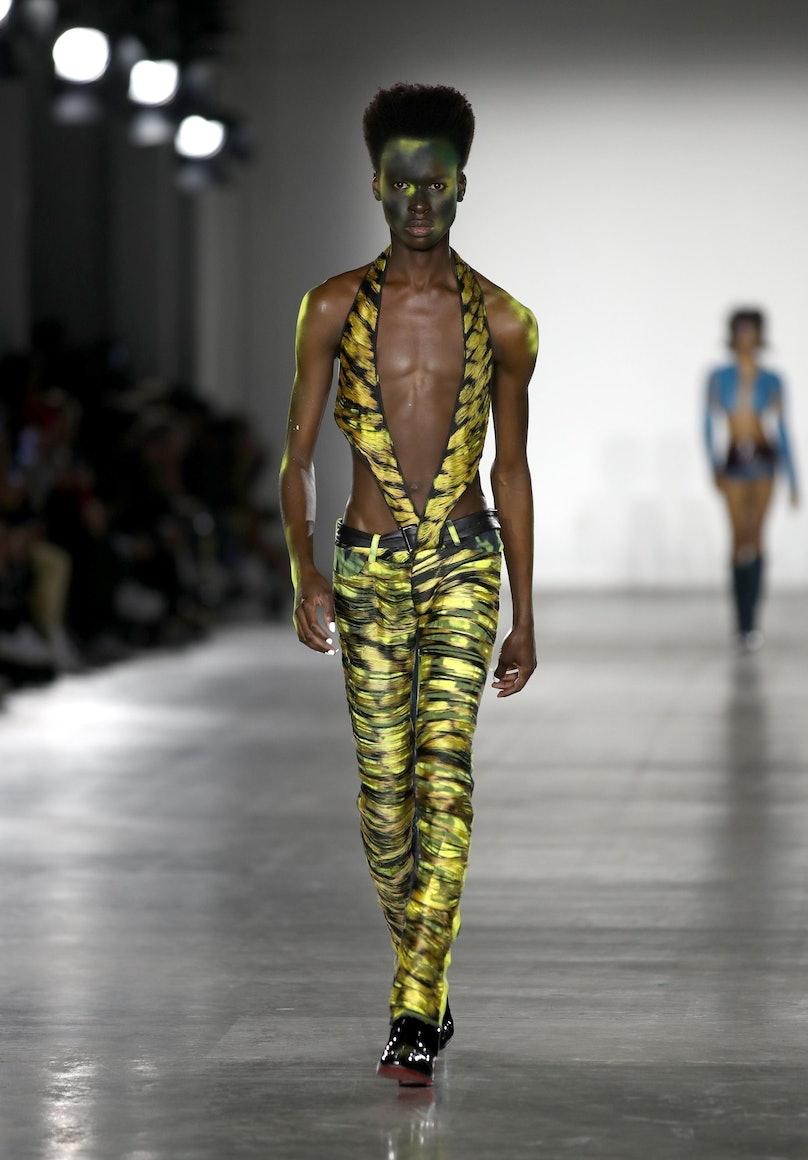 Fashion East / Mowalola - Runway - LFWM January 2019