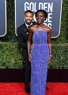 Michael B. Jordan and Lupita Nyong'o