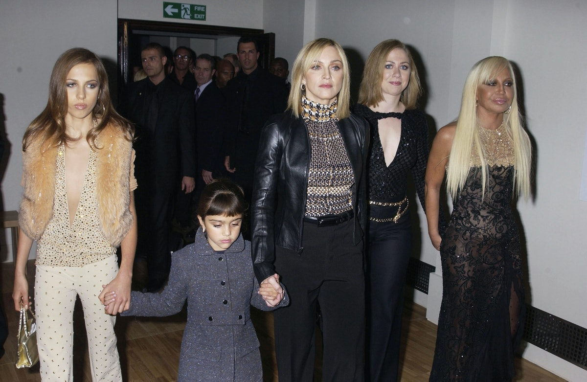 Launch Of The Versace Retrospective Exhibition At The V & A