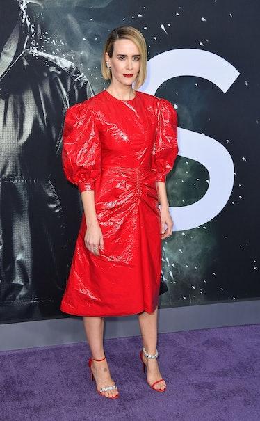 Sarah Paulson in Calvin Klein