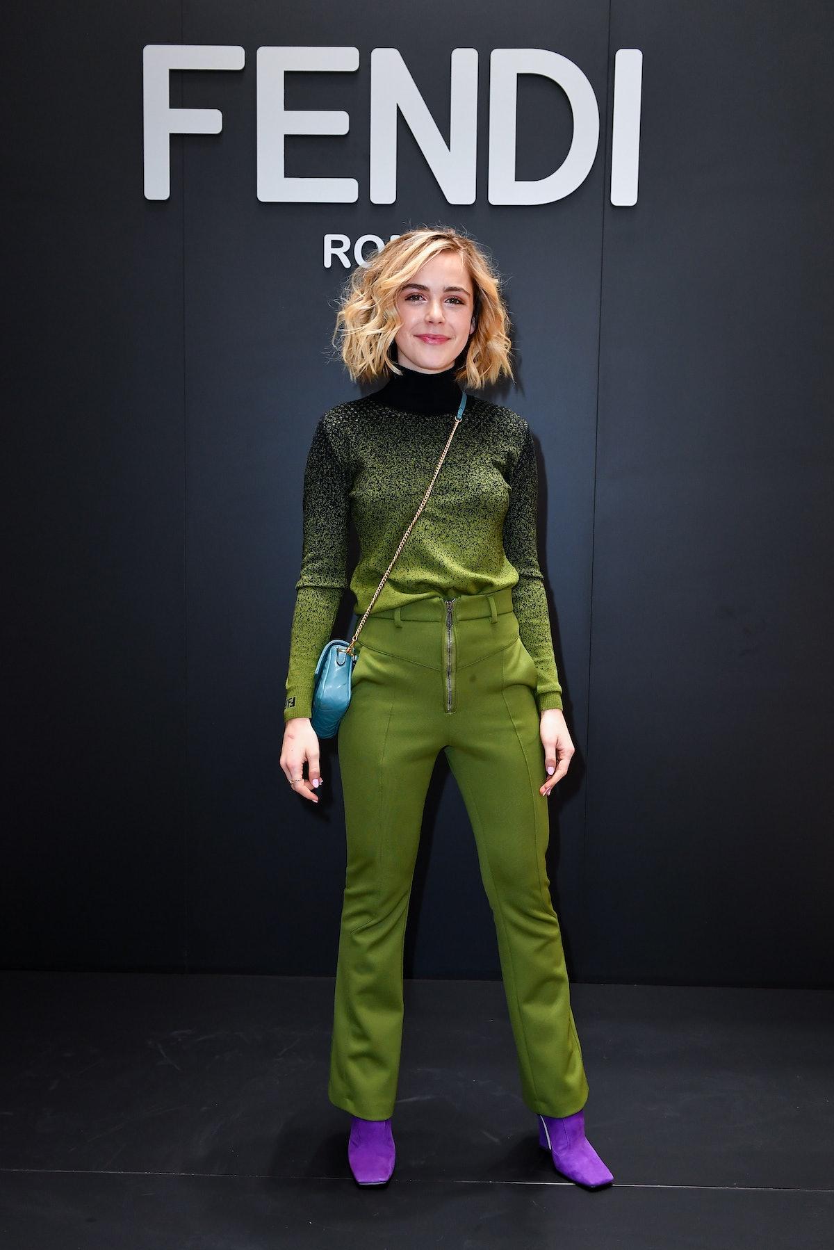 Fendi - Front Row - Milan Men's Fashion Week Autumn/Winter 2019/20