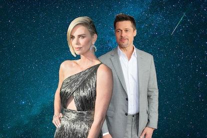 Brad Pitt and Charlize Theron