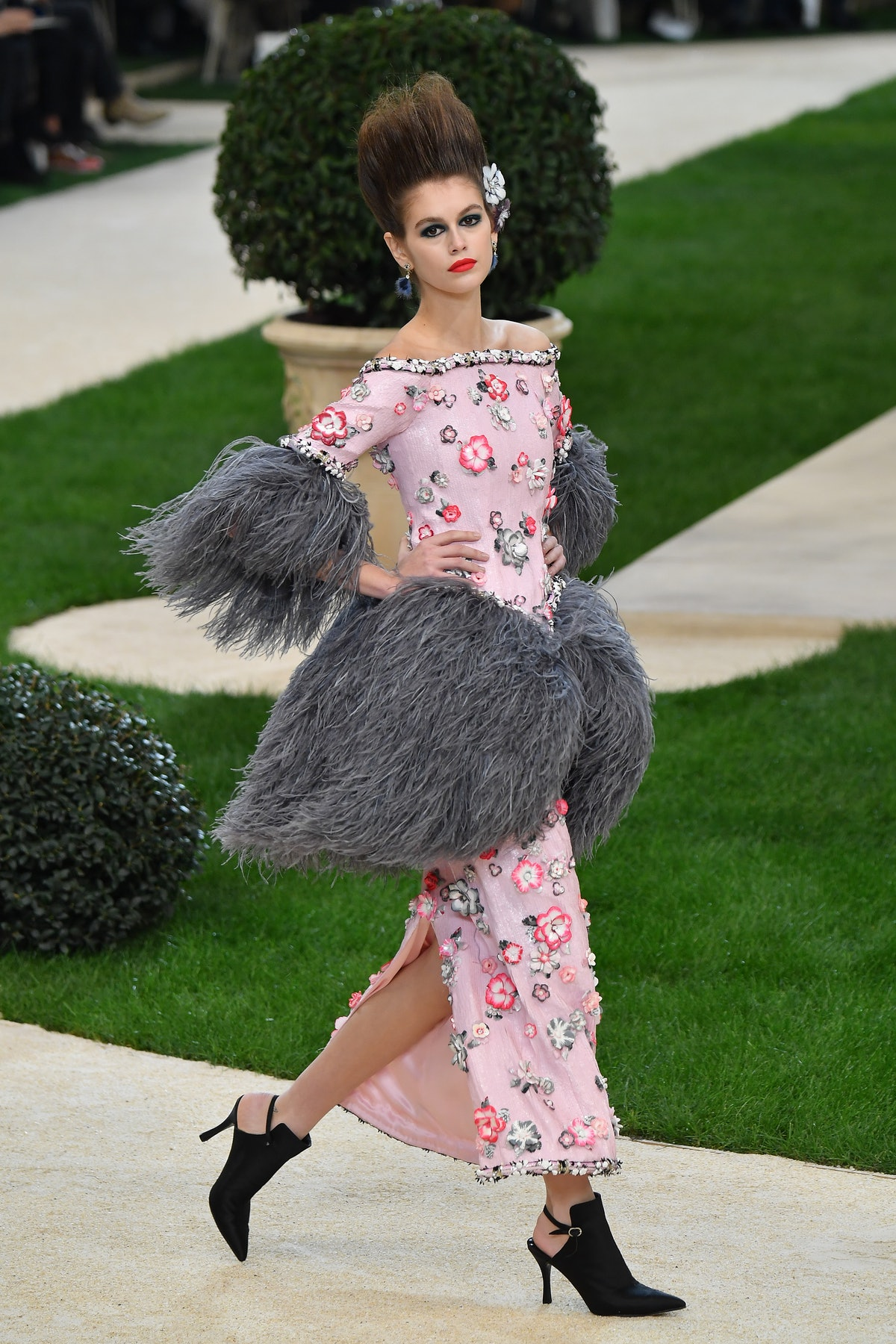 Kaia Gerber in Chanel Haute Couture Spring/Summer 2019