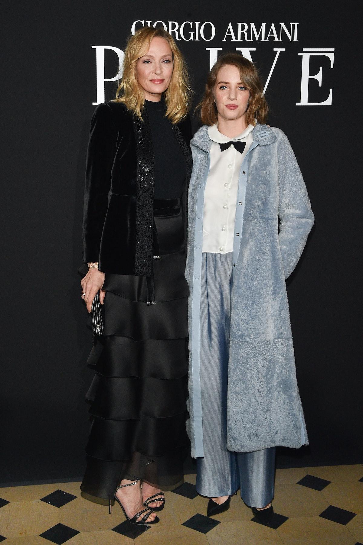 Giorgio Armani Prive : Front Row - Paris Fashion Week - Haute Couture Spring Summer 2019