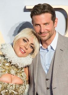 Lady Gaga and Bradley Cooper