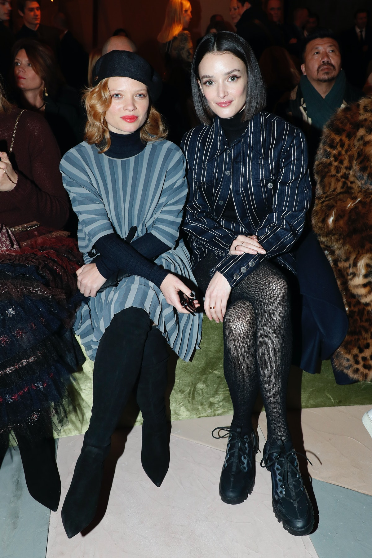 Christian Dior : Front Row - Paris Fashion Week - Haute Couture Spring Summer 2019