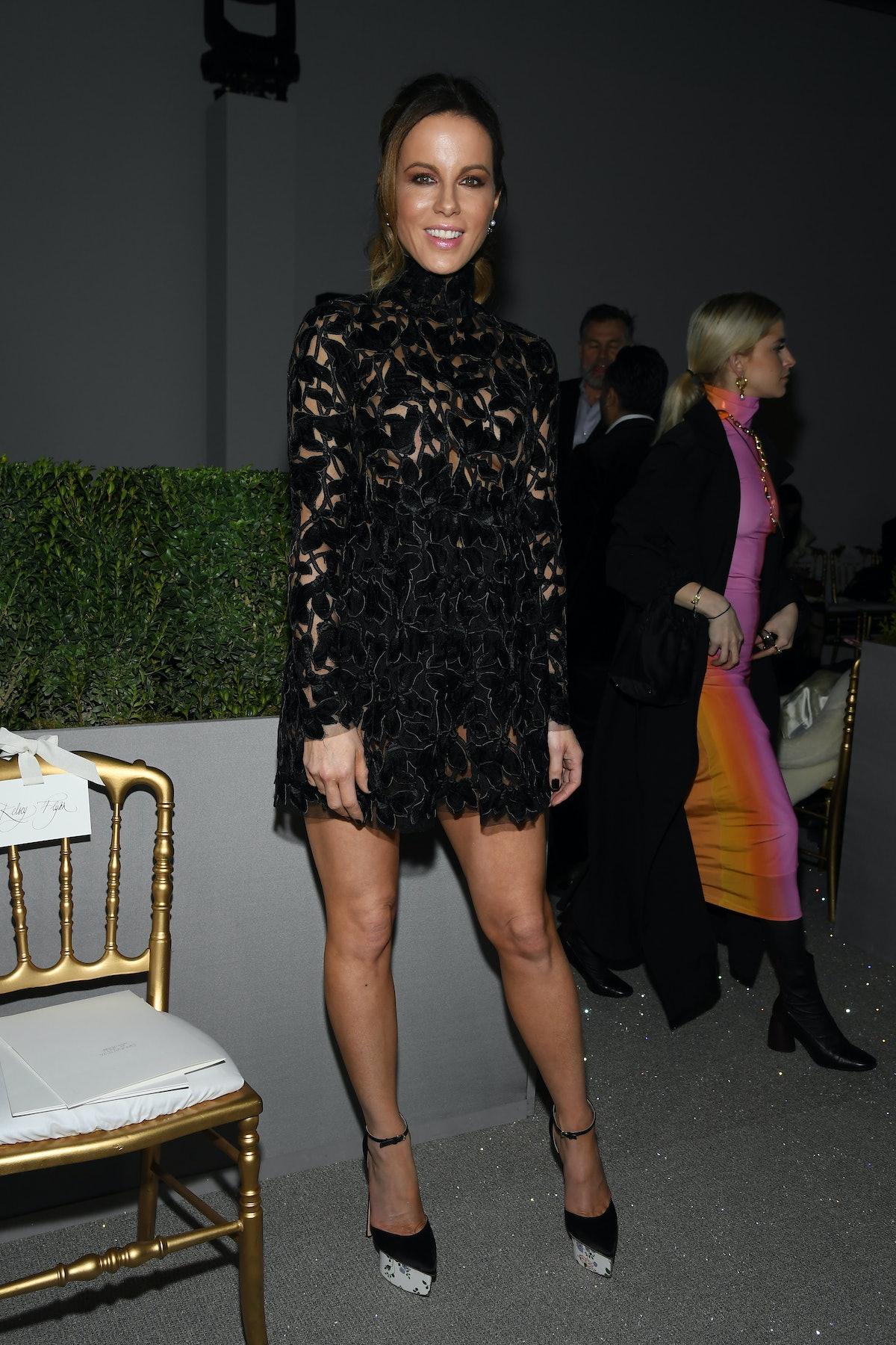 Giambattista Valli : Front Row - Paris Fashion Week - Haute Couture Spring Summer 2019