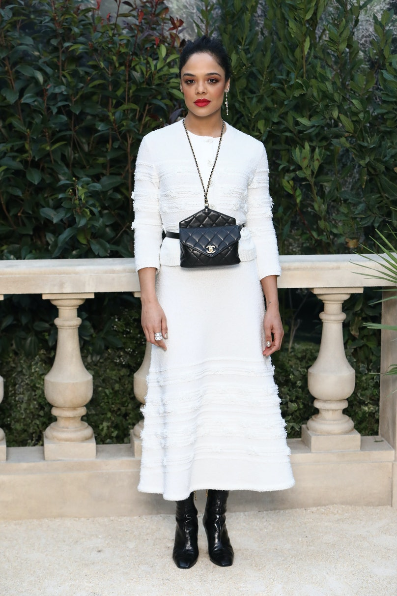 Chanel : Photocall - Paris Fashion Week - Haute Couture Spring Summer 2019