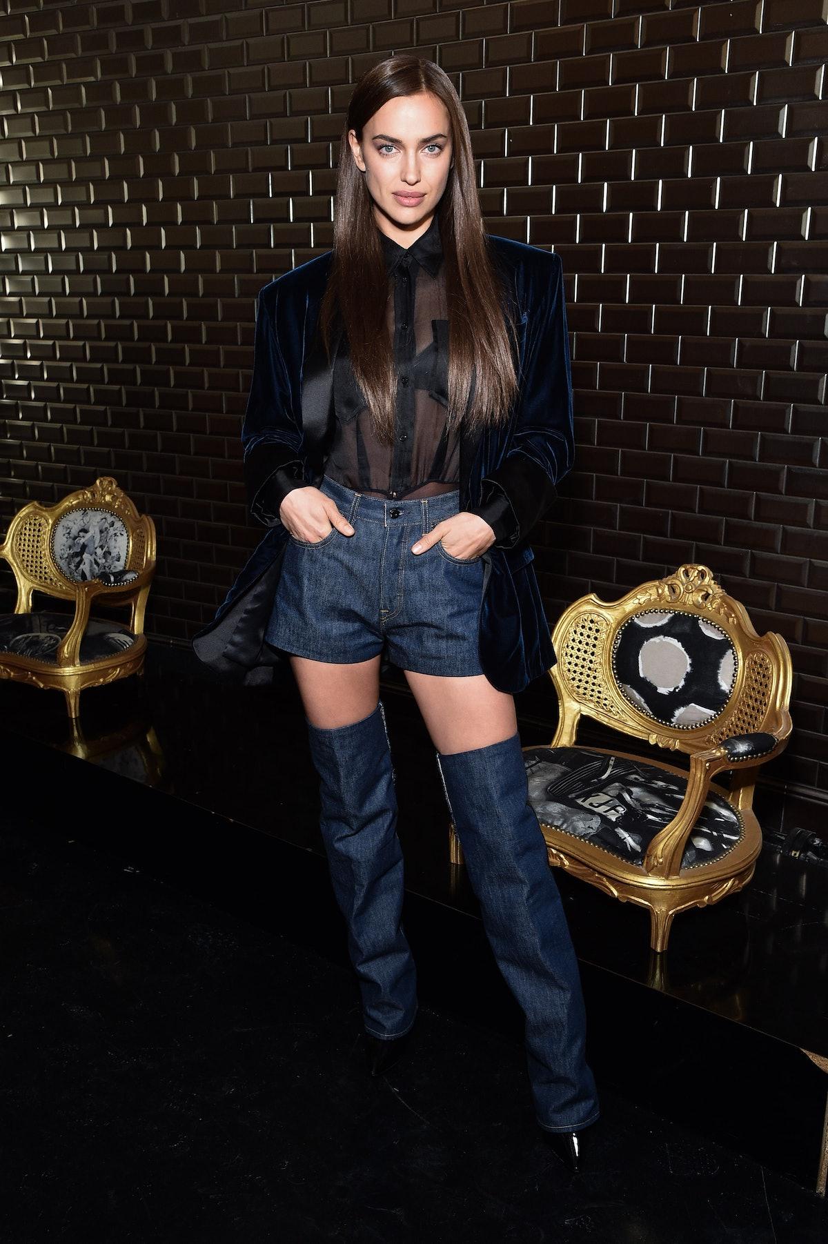 Jean Paul Gaultier : Front Row - Paris Fashion Week - Haute Couture Spring Summer 2019