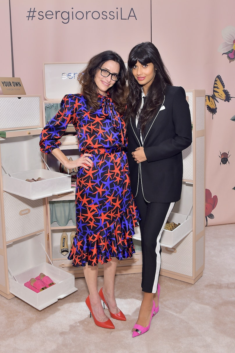 Sergio Rossi & Elizabeth Stewart Celebrate Capsule Collection at Pop-Up at Westfield Century City