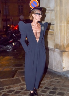 Celebrity Sightings in Paris - January 25