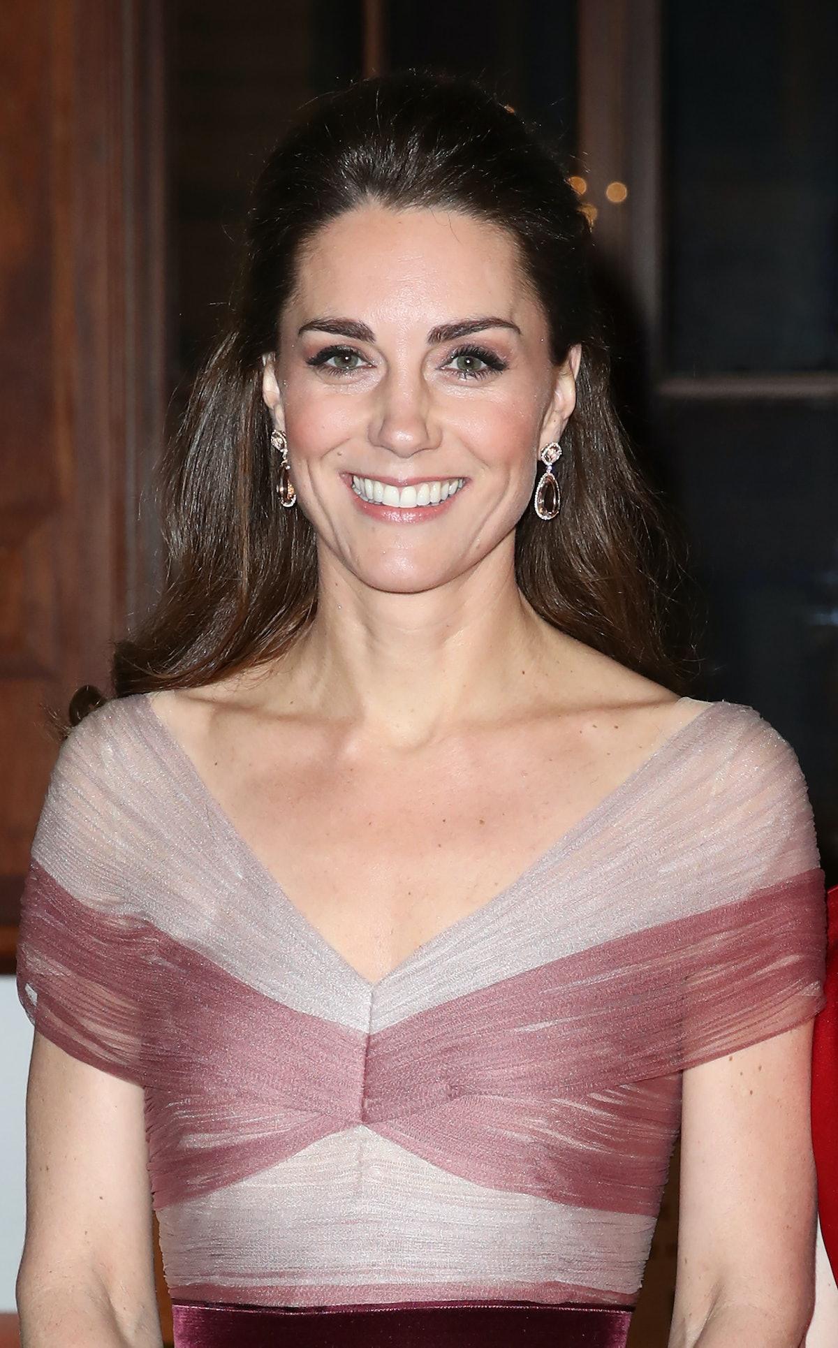 The Duchess Of Cambridge Attends 100 Women In Finance Gala Dinner