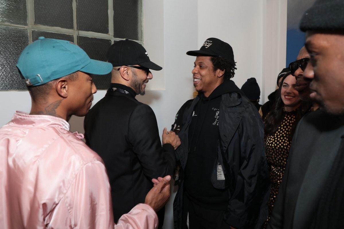 "Pharrell Williams, Kasseem ""Swizz Beatz"" Dean, Jay-Z"