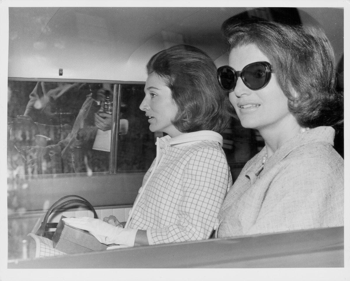 Jacqueline Kennedy And Princess Radziwill