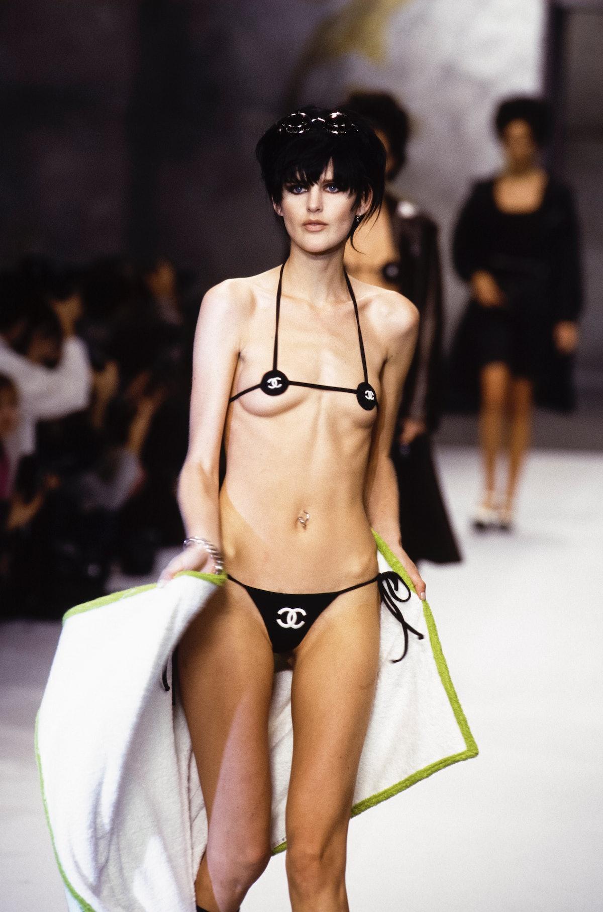 Défilé Chanel, Haute-Couture, Automne-Hiver 1995