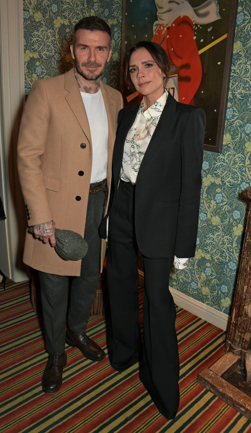 Victoria Beckham x YouTube Fashion & Beauty After Party At London Fashion Week Hosted By Derek Blasberg & David Beckham