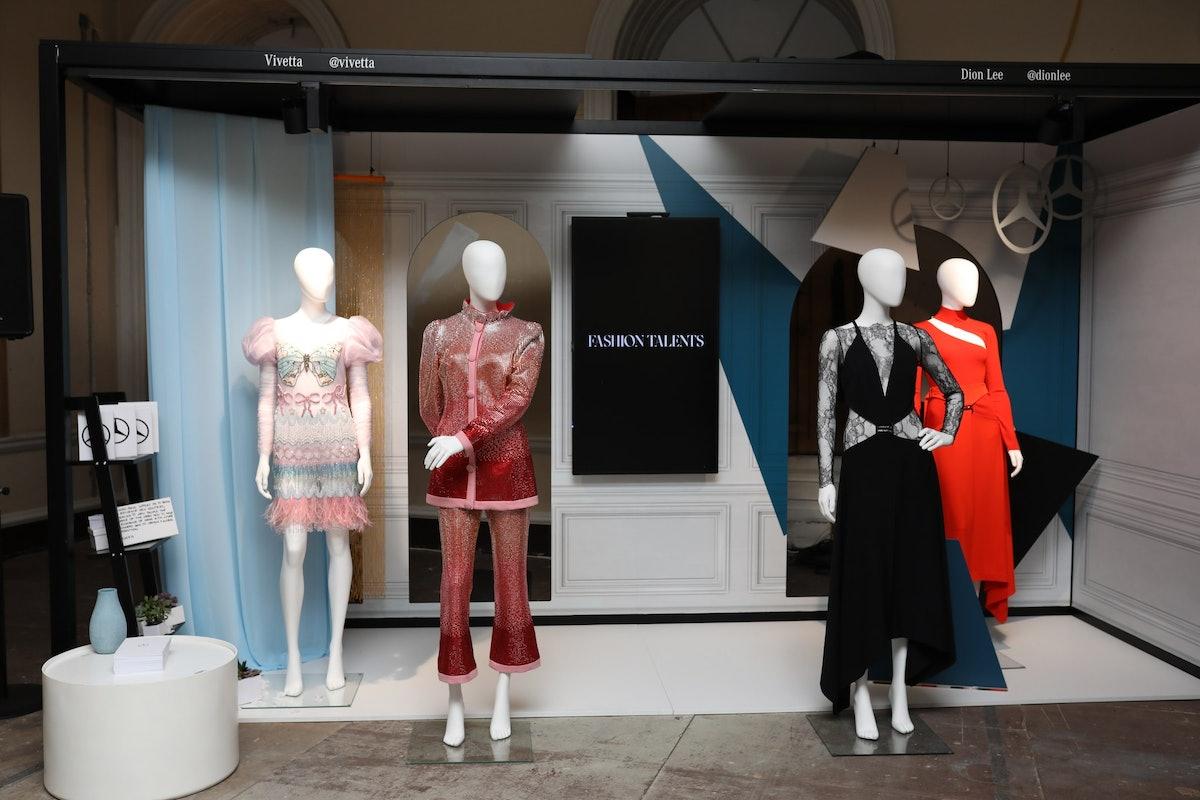 1 Mercedes-Benz Fashion Talents, Vivetta (L) Dion Lee (R), image credit Rebecca Maynes.JPG