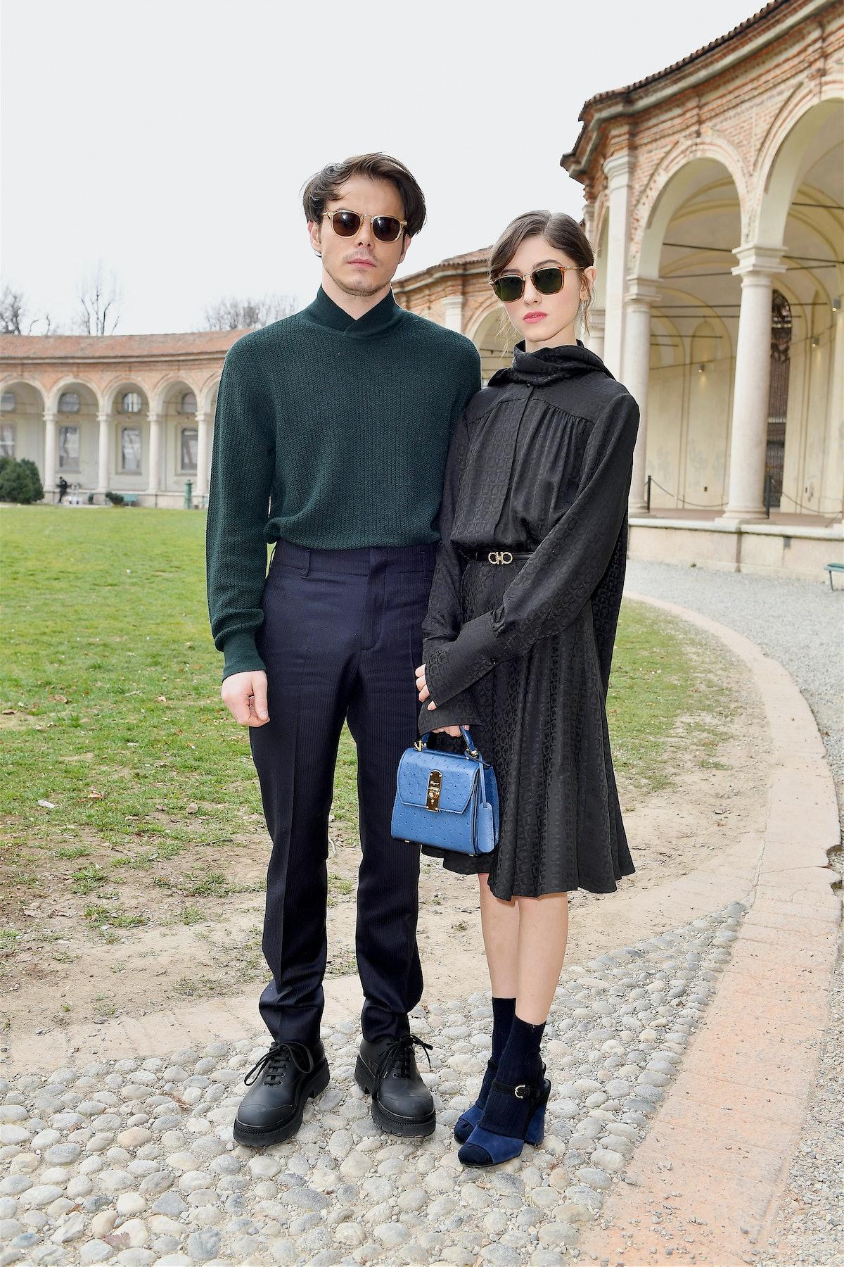 Salvatore Ferragamo - Arrivals: Milan Fashion Week Autumn/Winter 2019/20