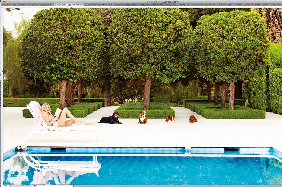 Sitting Pretty.Petra Ecclestone lounging poolside at her new palace.Omo Norma Kamali's stone-embelli...