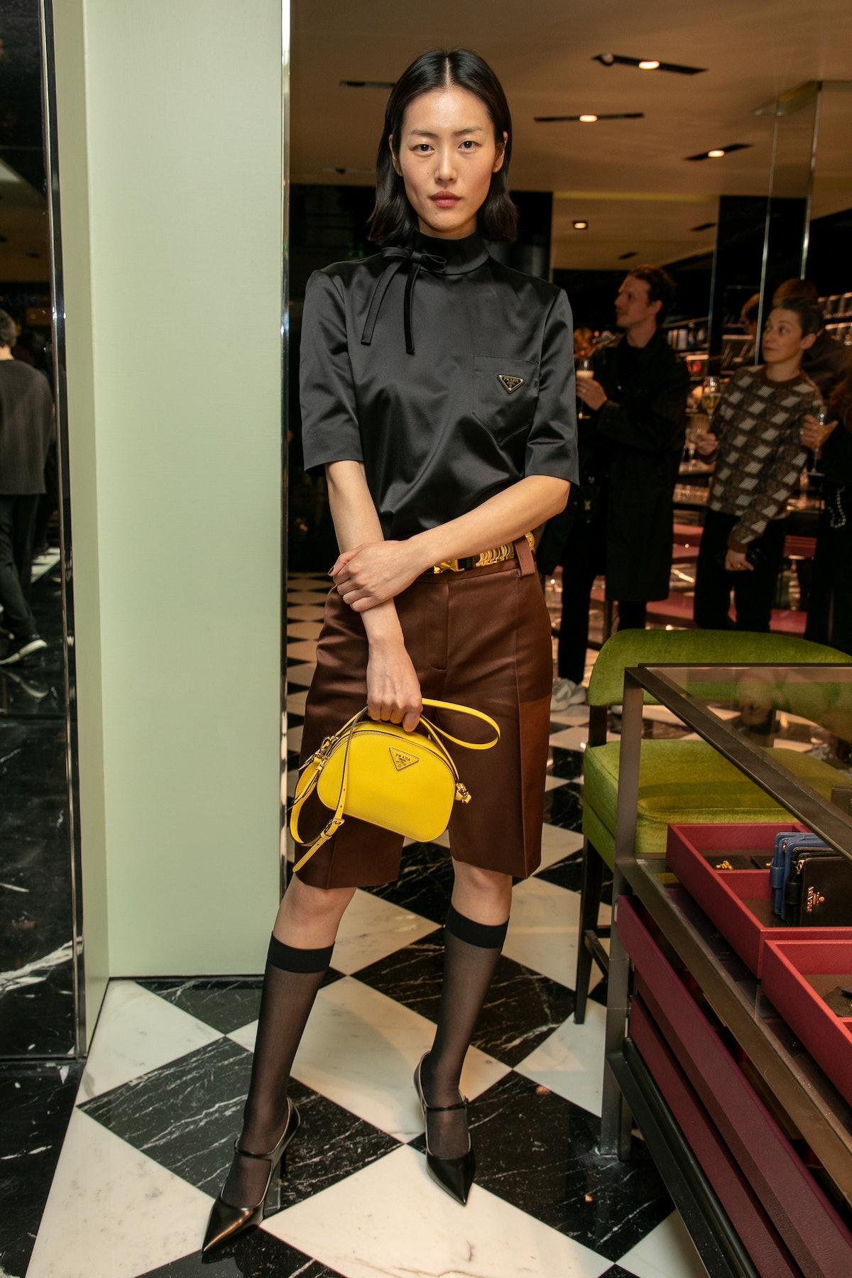 """Double Exposure"" : Prada Hosts Book Signing Event With Willy Vanderperre At Prada In Paris"