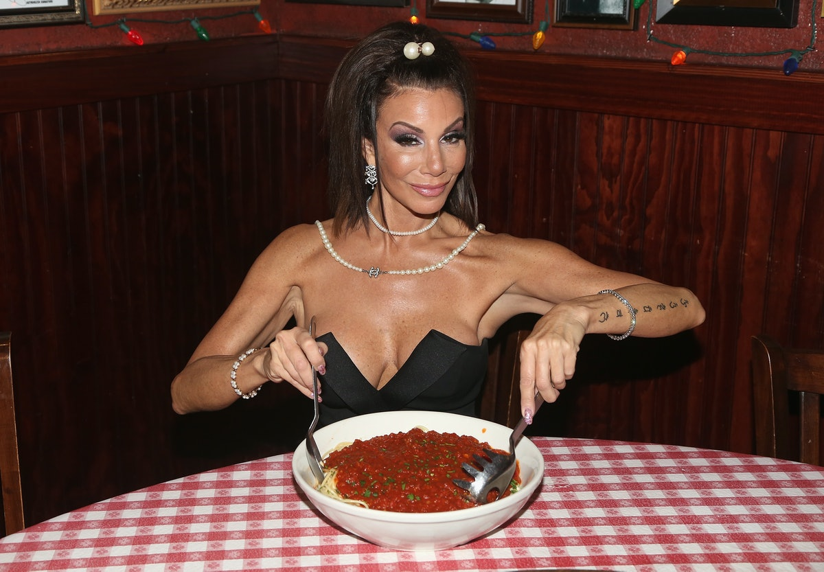 """Danielle Staub Visits Planet Hollywood's """"Holidays In Hollywood Wonderland"""""""