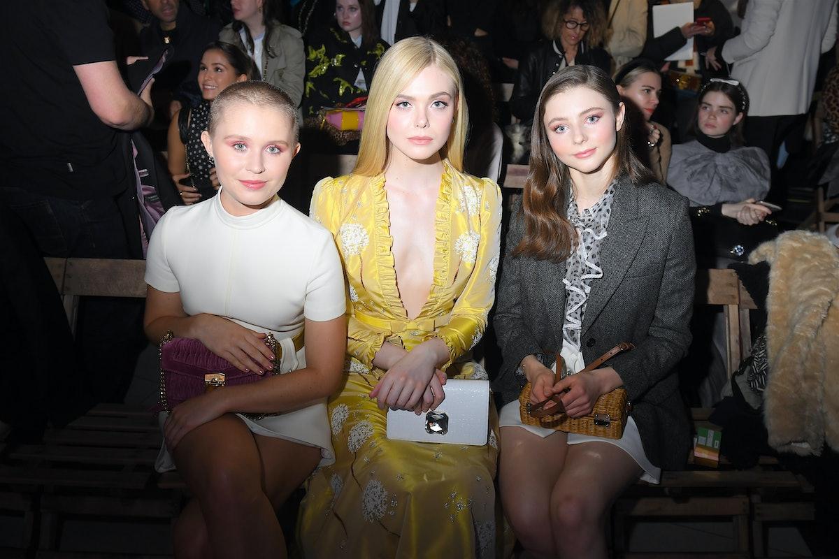 Miu Miu : Front Row - Paris Fashion Week Womenswear Fall/Winter 2019/2020