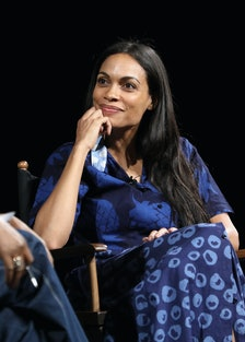 Tribeca TV Festival's Tribeca Talks: The Journey Inspired By TUMI With Rosario Dawson And Laverne Co...