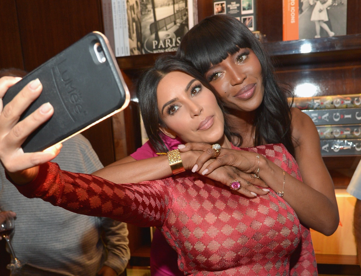 """Naomi Campbell And Benedikt Taschen Celebrate The Los Angeles Launch Of """"Naomi"""" At Taschen Beverly H..."""