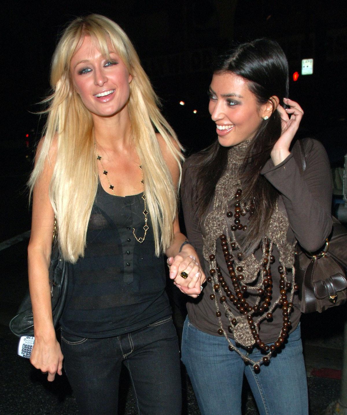 Paris Hilton and Kim Kardashian Sighting in Los Angeles - January 3, 2007