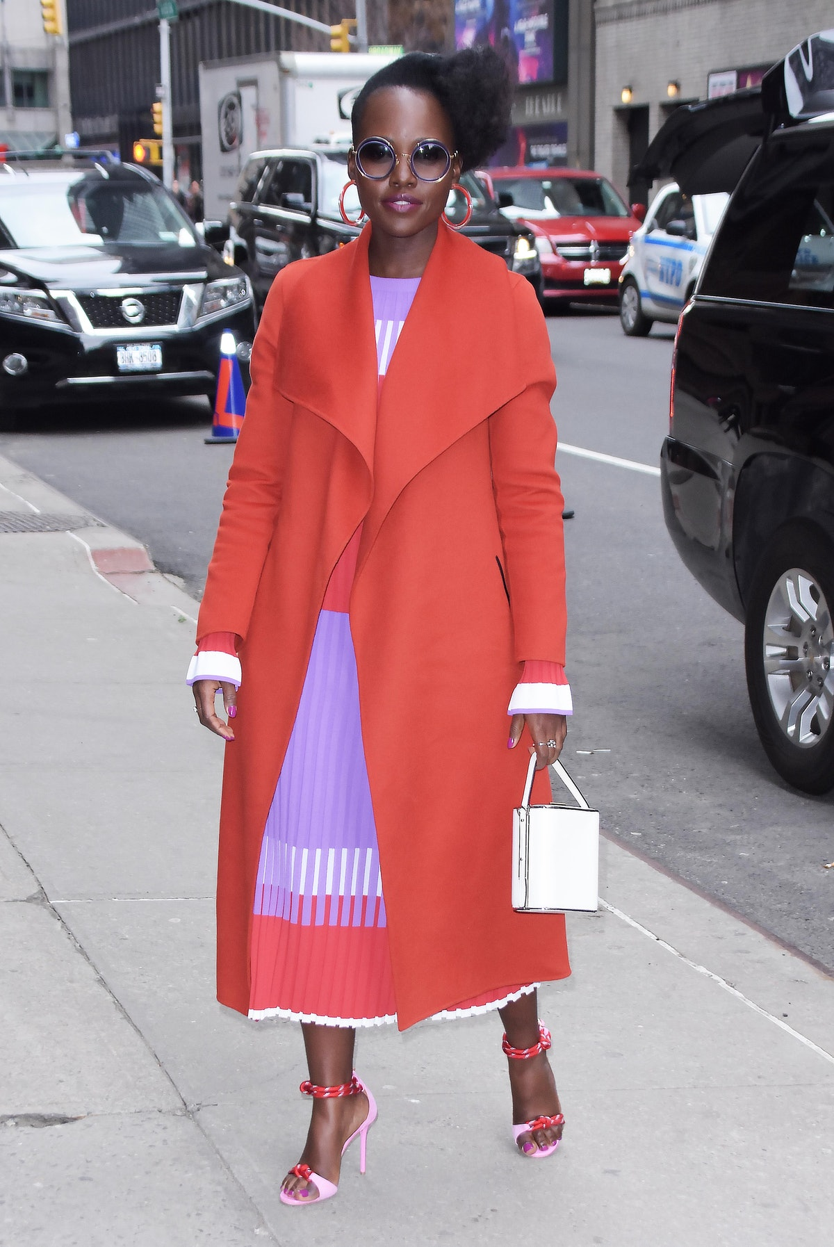 Celebrity Sightings In New York City - March 18, 2019