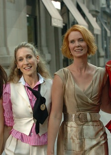 Kristin Davis, Sarah Jessica Parker, Cynthia Davis and Sex A