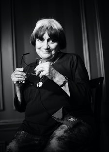 Agnes Varda photographed in Toronto Monday Septmeber 8th, 2008 during the Toronto Interational Film