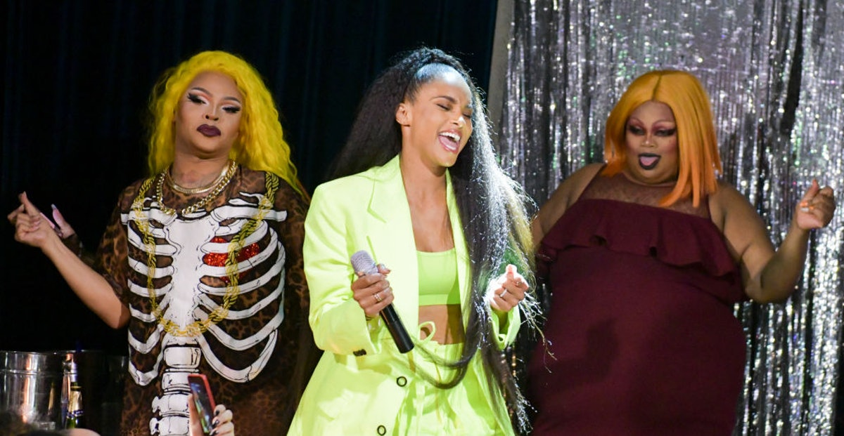 """Ciara Makes Surprise Appearance at Mickey's WeHo During """"RuPaul's Drag Race"""" Viewing Party"""