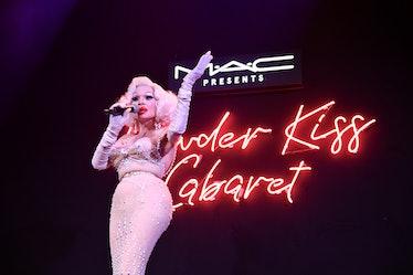 MAC Powder Kiss Cabaret Hosted By Susanne Bartsch