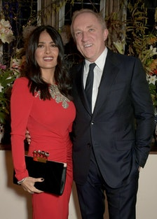 Francois-Henri Pinault Hosts A Dinner With Sarah Burton In Celebration Of The Alexander McQueen Old ...