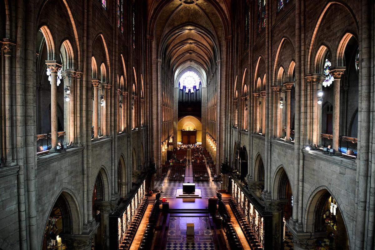 FRANCE-RELIGION-TOURISM-CATHEDRAL-PARIS