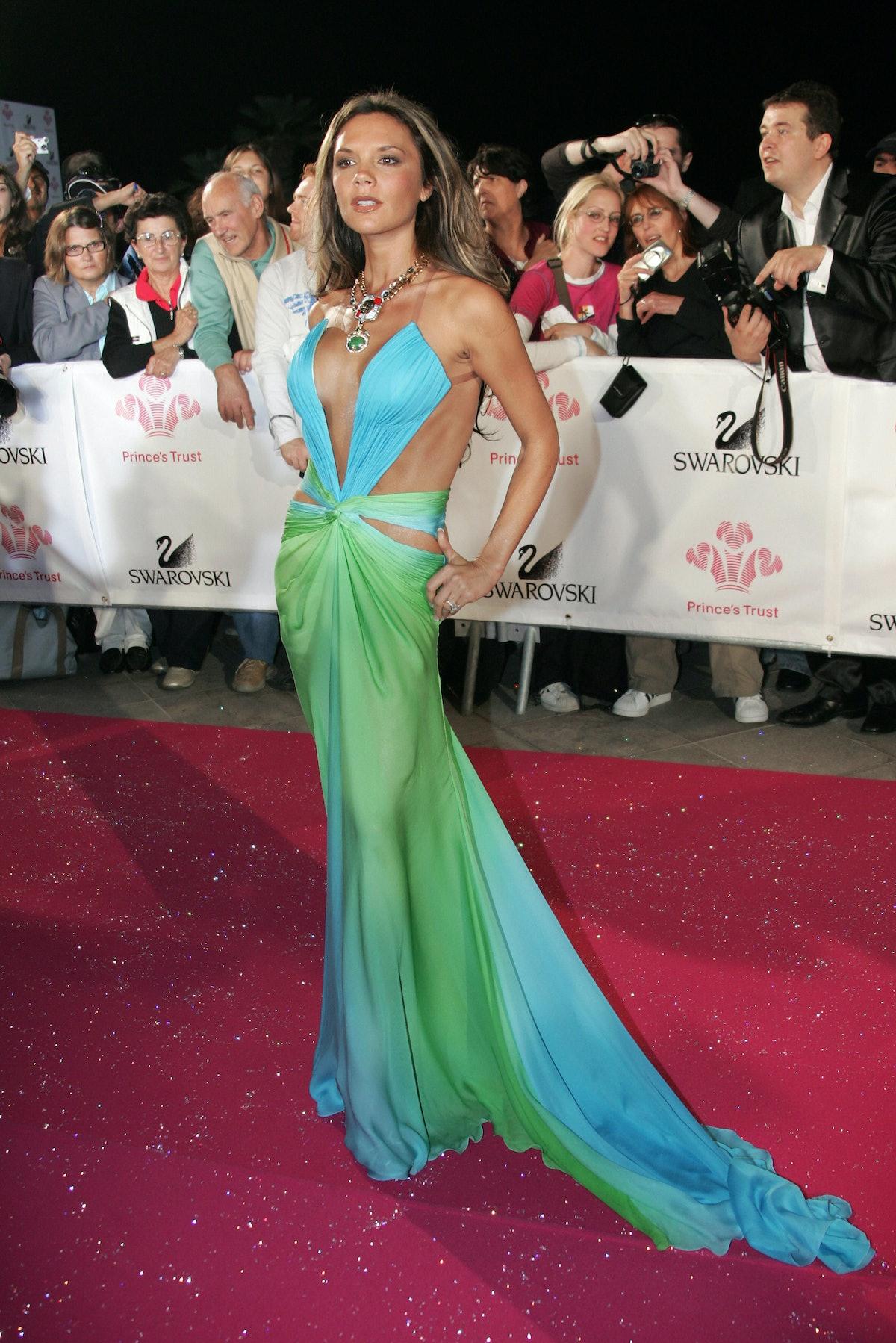 Former Spice Girl British singer Victoria Beckham