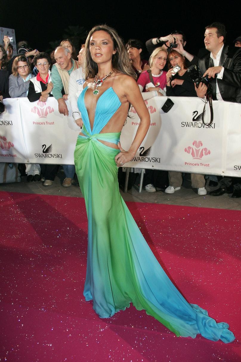 Former Spice Girl British singer Victori
