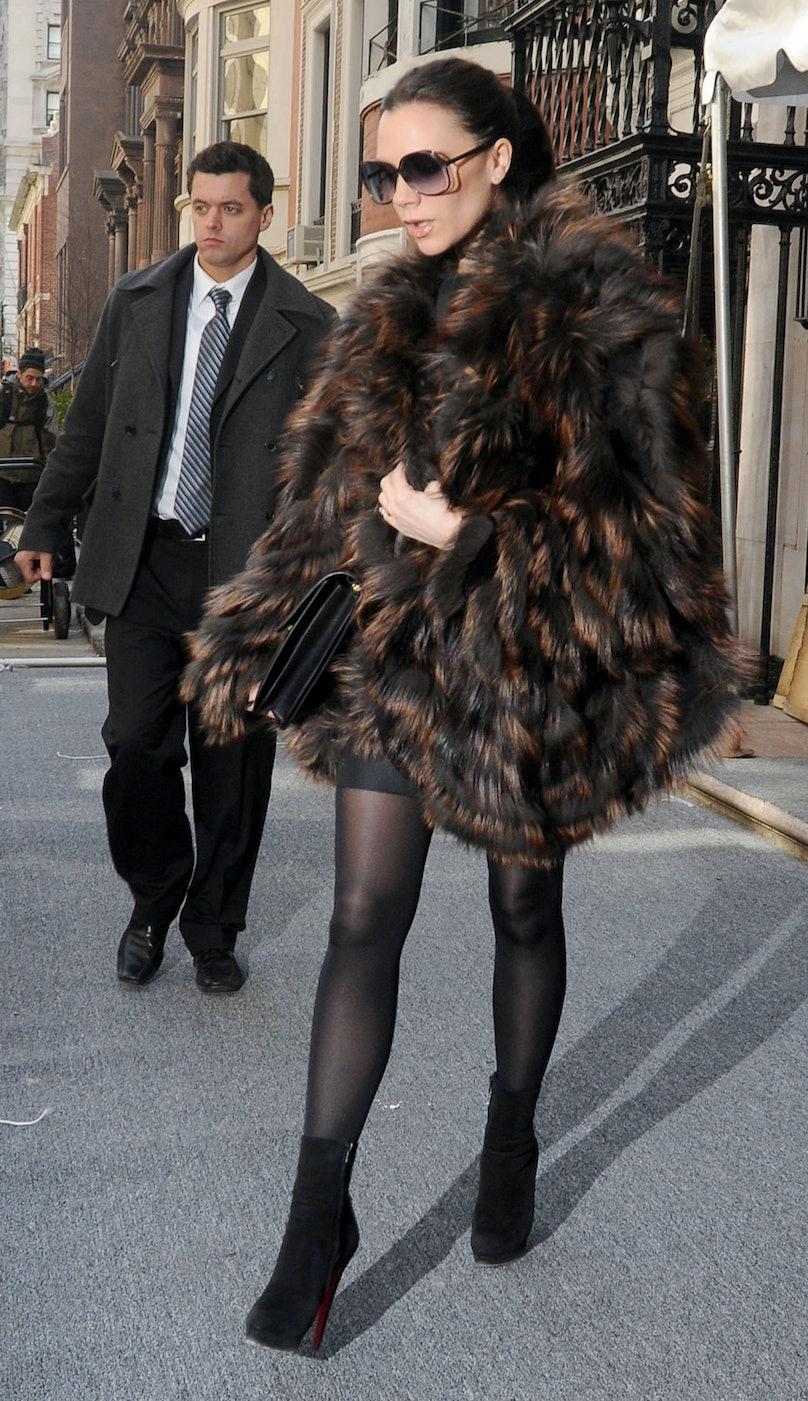Celebrity Sightings In New York City - February 13, 2011