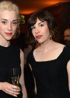Bloomberg & Vanity Fair Cocktail Reception Following The 2013 WHCA Dinner